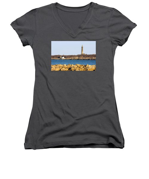 South Tower-thatcher Island Women's V-Neck