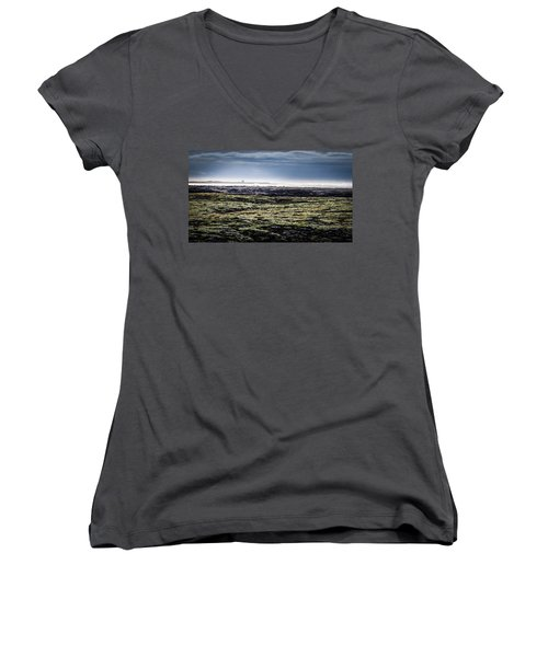 South West Iceland Women's V-Neck
