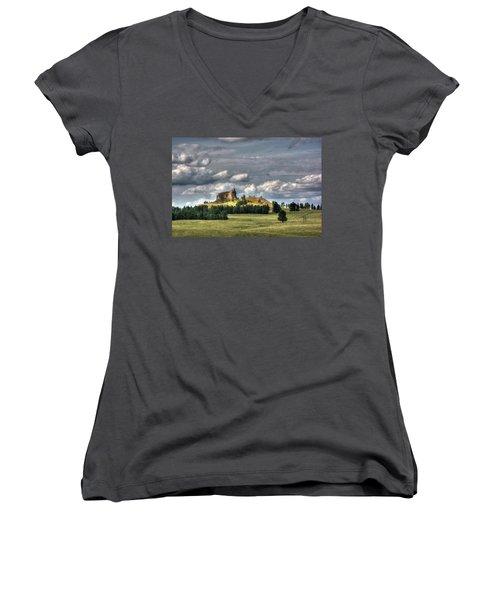 Belltower Butte Women's V-Neck T-Shirt