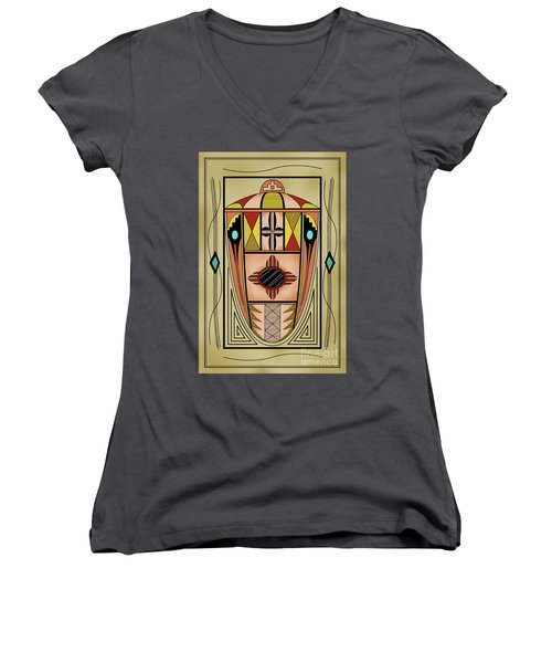 Southwest Vase Women's V-Neck T-Shirt