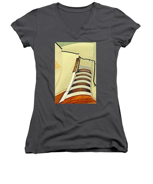 Space Geometry #1 Women's V-Neck