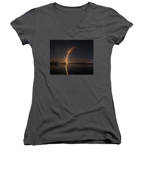 Spacex Falcon 9 Women's V-Neck