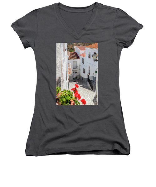 Spanish Street 3 Women's V-Neck