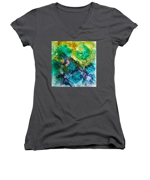 Sparkling Water Women's V-Neck (Athletic Fit)