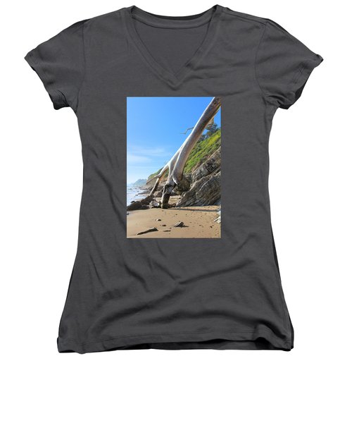 Spears On The Coast Women's V-Neck (Athletic Fit)