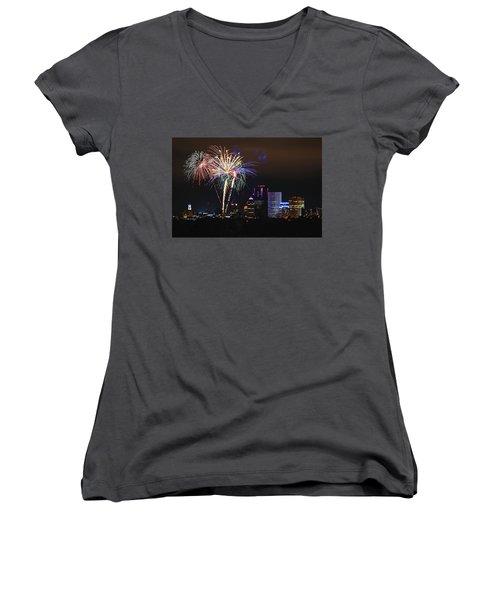 Spectacular Celebration Women's V-Neck T-Shirt