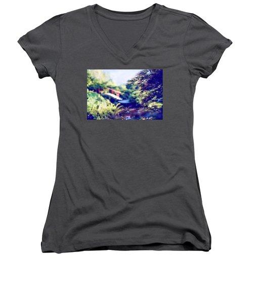 Spidey Morning Women's V-Neck T-Shirt