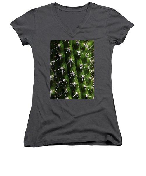 Spine Field Women's V-Neck T-Shirt