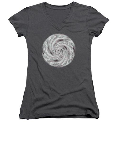 Spiraling Women's V-Neck