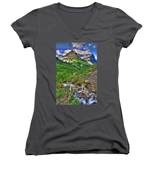 Spires And Stream Women's V-Neck T-Shirt