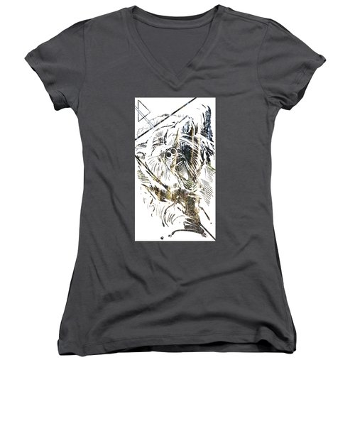 Spirit Animal . Bear Women's V-Neck