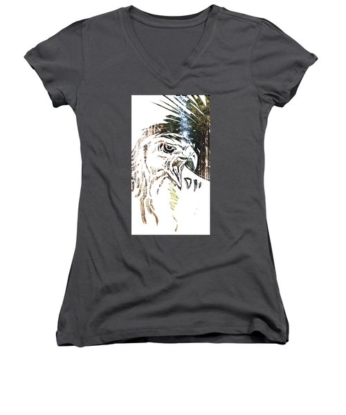 Spirit Animal . Hawk Women's V-Neck