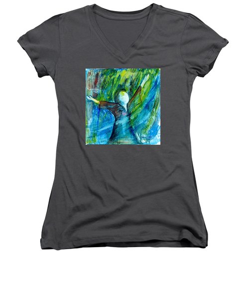 Spirit Move Women's V-Neck