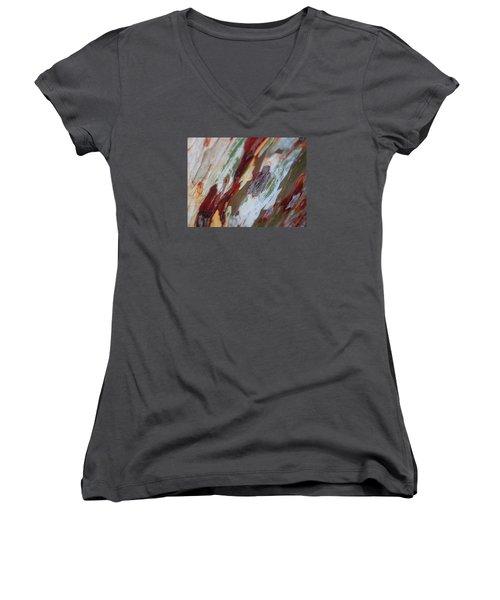 Splash Of Amber Women's V-Neck T-Shirt