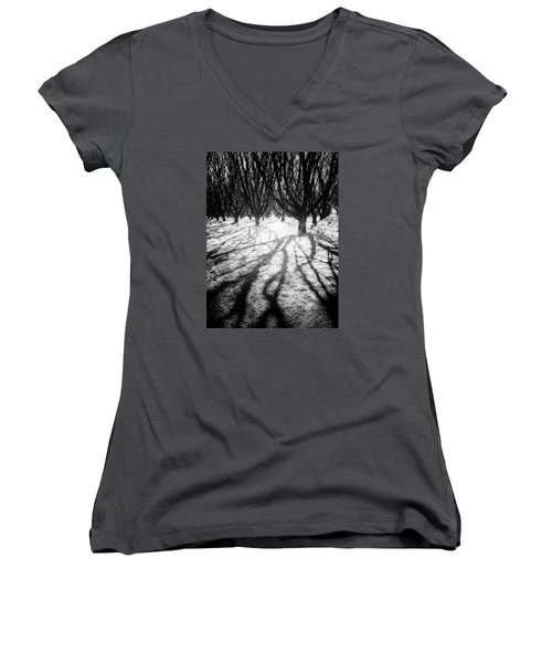 Spooky Forest Women's V-Neck