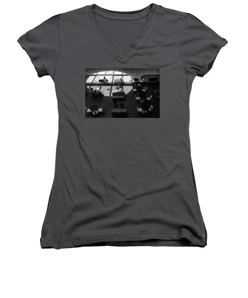 Women's V-Neck featuring the photograph Spotlight by Eric Lake