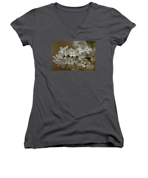 Spring 2016 14 Women's V-Neck T-Shirt (Junior Cut) by Cendrine Marrouat