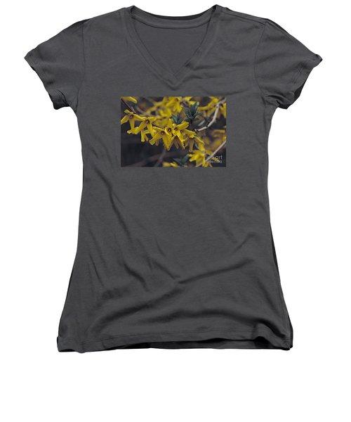Spring 2016 8 Women's V-Neck T-Shirt (Junior Cut) by Cendrine Marrouat