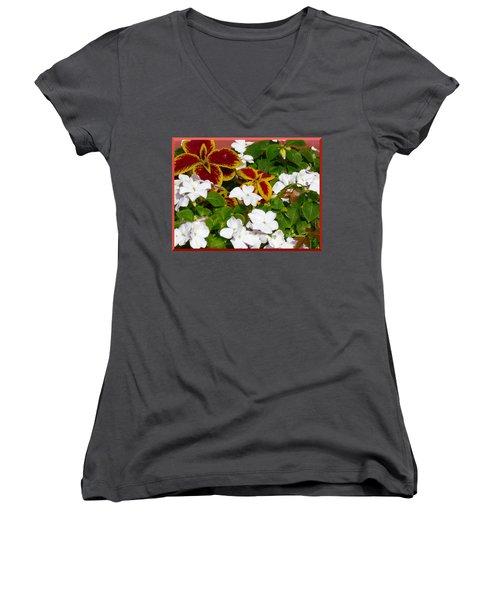 Spring Annuals Women's V-Neck
