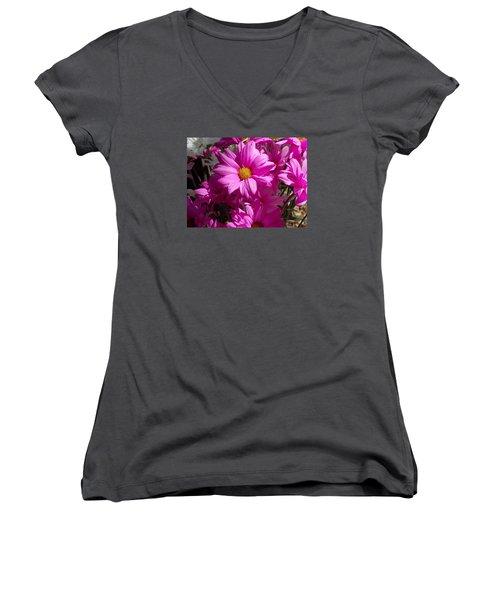 Spring  Women's V-Neck T-Shirt