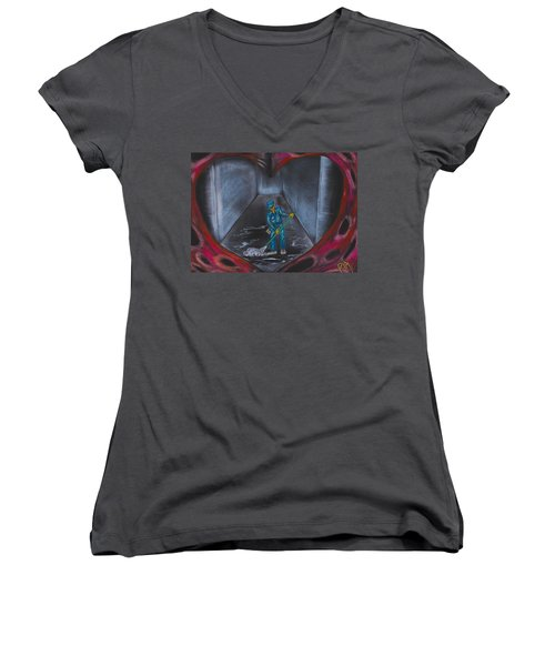 Spring Cleaning Women's V-Neck (Athletic Fit)
