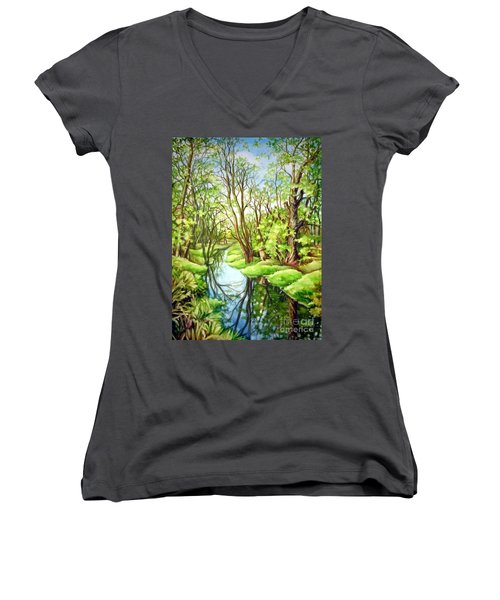 Spring Creek Women's V-Neck