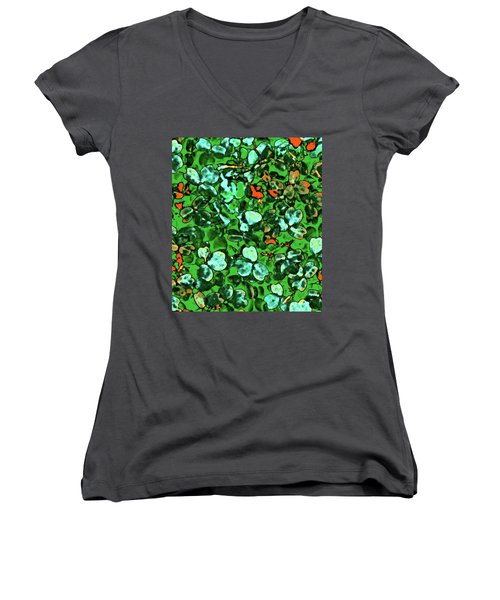 Spring Foiliage Women's V-Neck T-Shirt