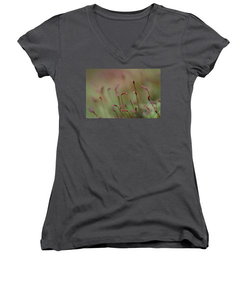 Spring Macro5 Women's V-Neck T-Shirt