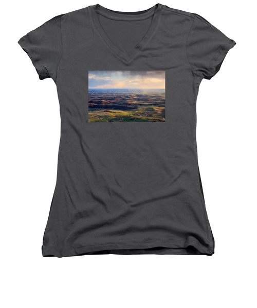 Spring Magic Women's V-Neck T-Shirt