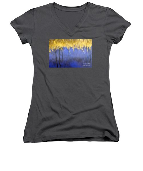 Spring Reflections Women's V-Neck (Athletic Fit)