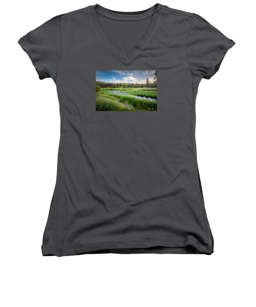 Spring River Valley Women's V-Neck