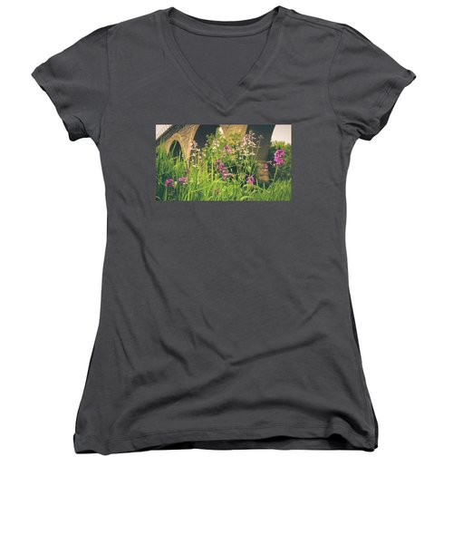 Spring Under The Arches Women's V-Neck