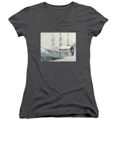 Square Rigger Women's V-Neck (Athletic Fit)