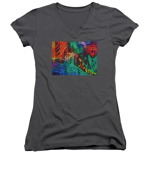 Squares And Other Shapes 2 Women's V-Neck