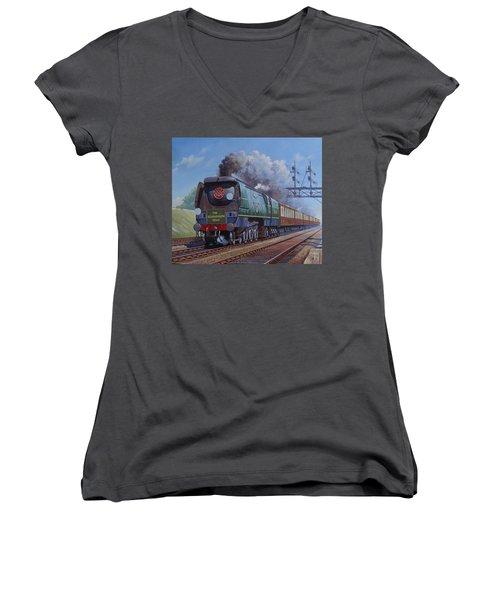 Sr Merchant Navy Pacific Women's V-Neck T-Shirt