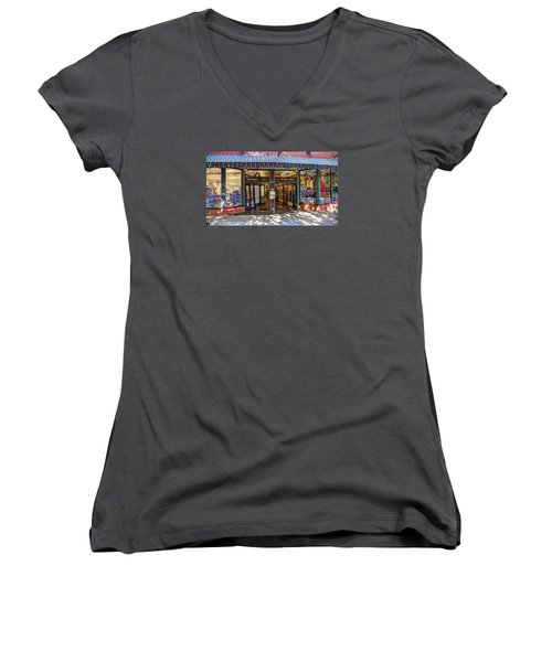 St Augustine Indoor Mall Women's V-Neck (Athletic Fit)