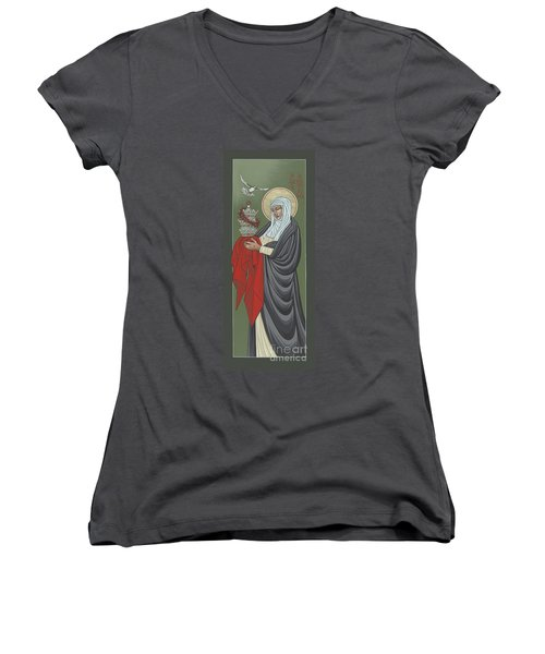St Catherine Of Siena- Guardian Of The Papacy 288 Women's V-Neck