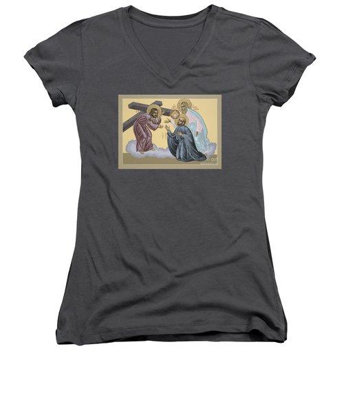 St Ignatius Vision At La Storta 074 Women's V-Neck
