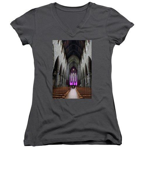 St. Mary's Cathedral, Killarney Ireland 1 Women's V-Neck (Athletic Fit)