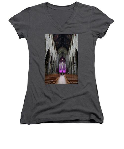 St. Mary's Cathedral, Killarney Ireland 1 Women's V-Neck