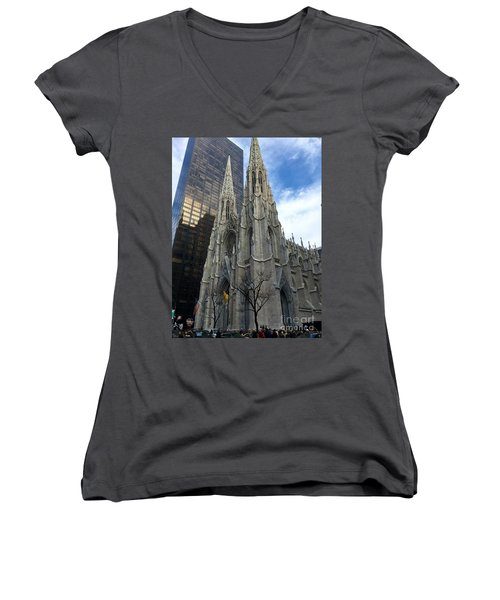 St. Patricks Cathedral Women's V-Neck