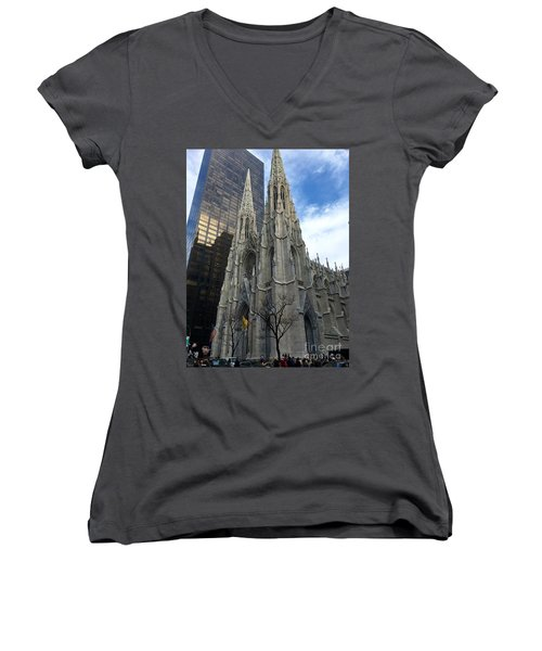 St. Patricks Cathedral Women's V-Neck