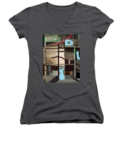Stage Women's V-Neck (Athletic Fit)