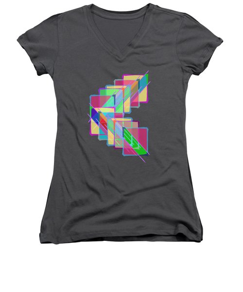 Stained Glass Women's V-Neck