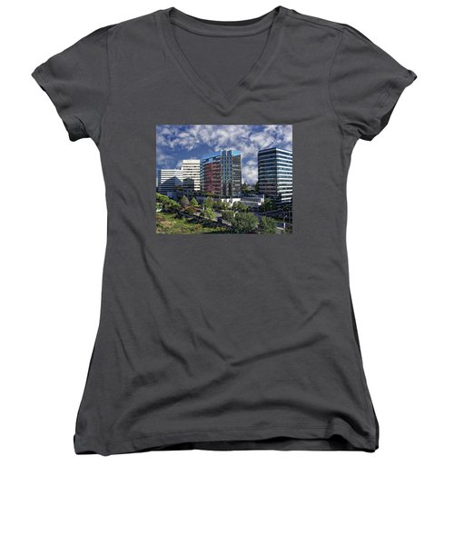 Stamford City Center Women's V-Neck