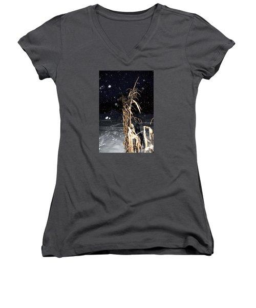 Stand Tall Women's V-Neck T-Shirt