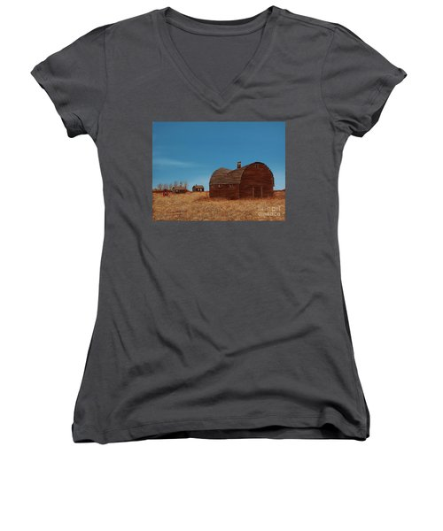 Standing Alone Women's V-Neck T-Shirt