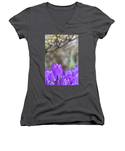 Standing Out From The Crowd Women's V-Neck