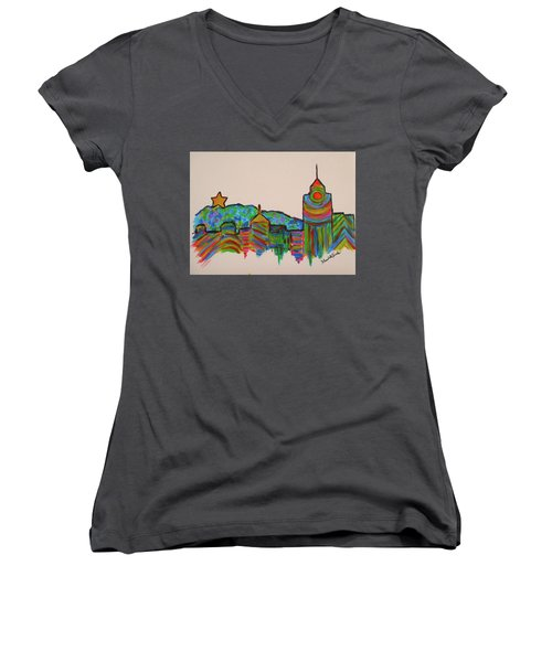 Star City Play Women's V-Neck