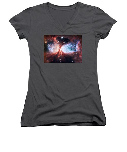 Star Gazer Women's V-Neck T-Shirt
